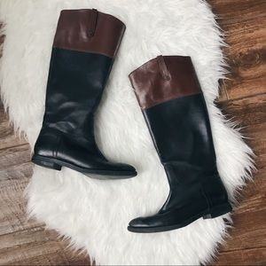 Enzo Angiolini • Ellerby Two Tone Riding Boots